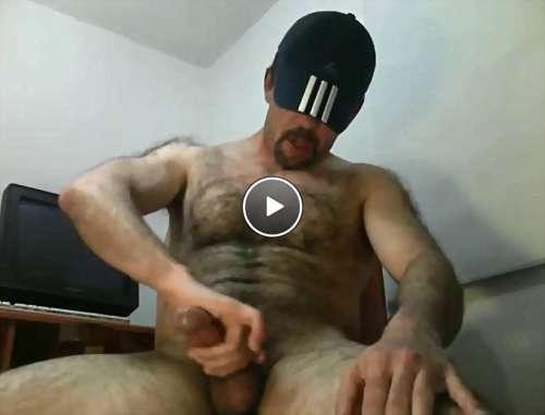 married hairy men video