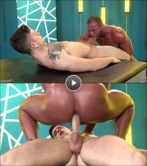 interracial gay anal video